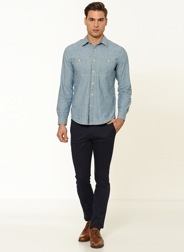Dockers Pantolon | Skinny Tapered Lacivert